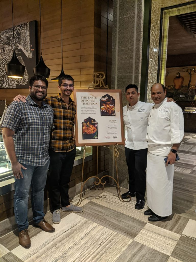 The Bohri Kitchen at St Regis, Mumbai